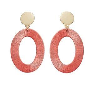 LOFT thread drop earrings